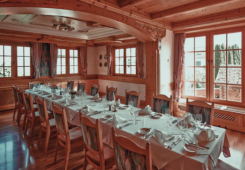 Restaurant Bommersheim – Tafel